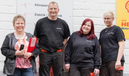 Das Team der Car Clinic Schiefbahn